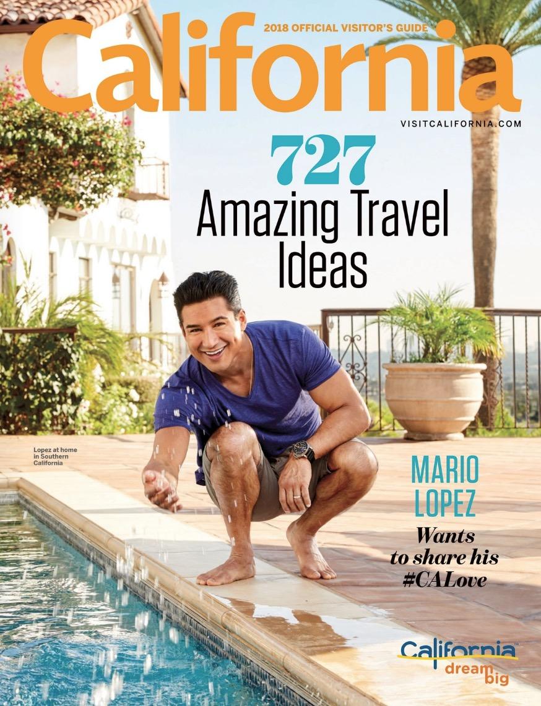 Featured in 2018 'Visit California' Magazine