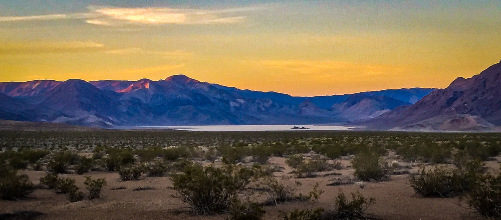 The Racetrack Playa / Death Valley