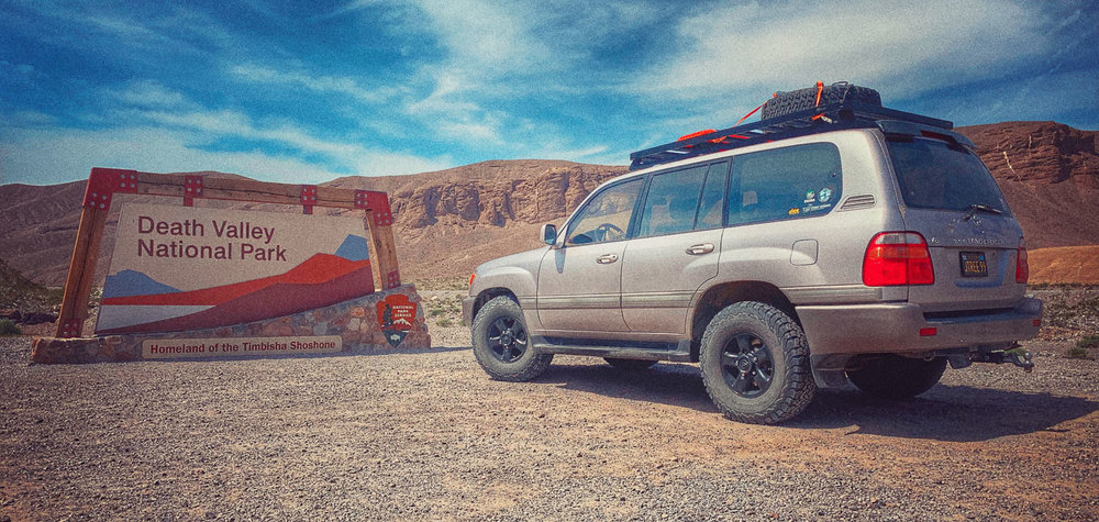 Death Valley by 4x4