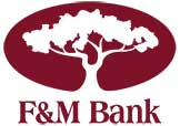 Thanks to our sponsors from F&M Bank!