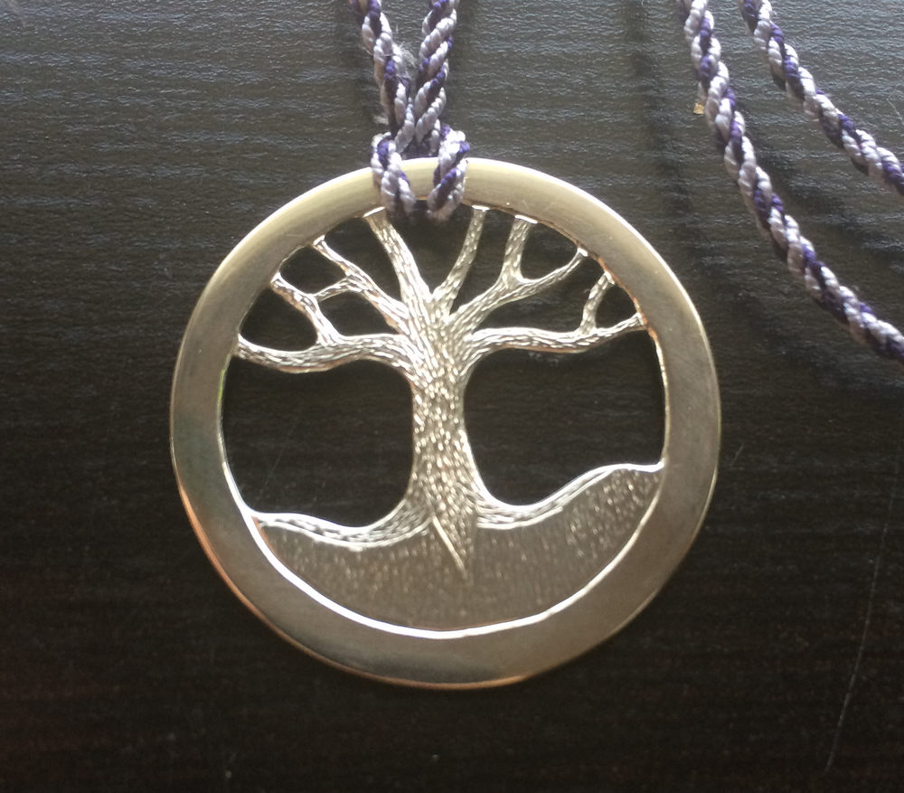 Tree on Silk