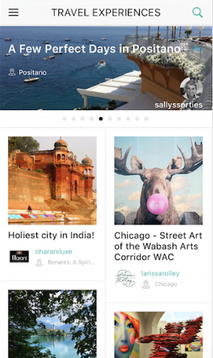 The  Guidrr app  houses free, downloadable, step-by-step mobile-friendly travel guides built by instagrammers