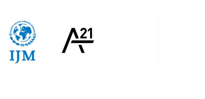 www.ijm.org                   www.a21.org