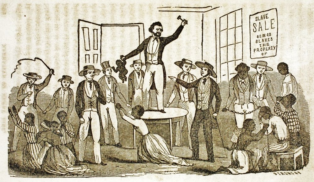 Slave Auction, United States. Henry Bibb,  Narrative of the life and adventures of Henry Bibb, an American slave, written by himself  (New York, 1849), p. 201.