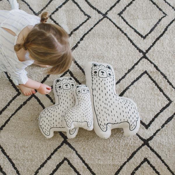 Imani COllective - Llama Animal Pillow.jpg