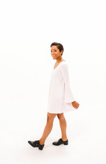 2017 DRESSEMBER DRESS - THE BLYTHE IN WHITE