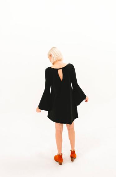 2017 DRESSEMBER DRESS - THE BLYTHE IN BLACK
