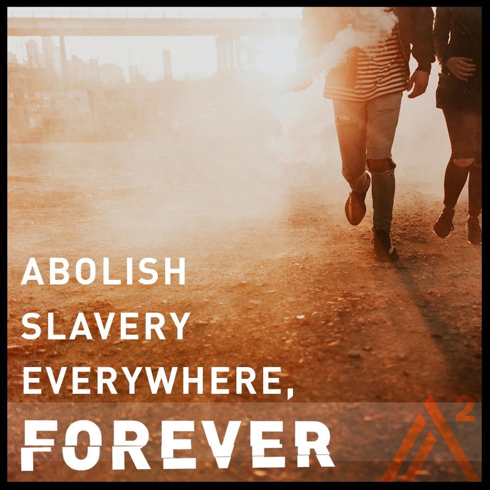 Freedom. - That's our goal for every human being on the planet. We are the new abolitionists. Join us.