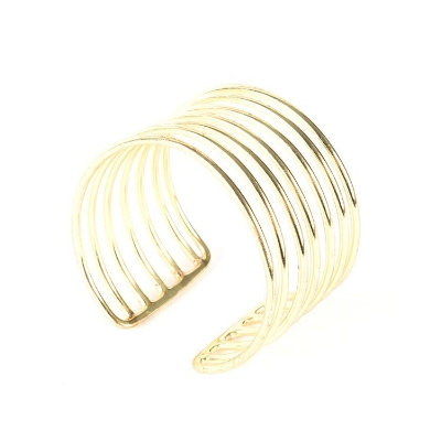 Every advocate who raises $2500 or more - will receive the Coil Gold Cuff from Mata Traders