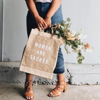 "*Claimed* The two advocates who raise the most in the second week of December - will receive a ""Women are Sacred"" market bag from Our Sacred Women."