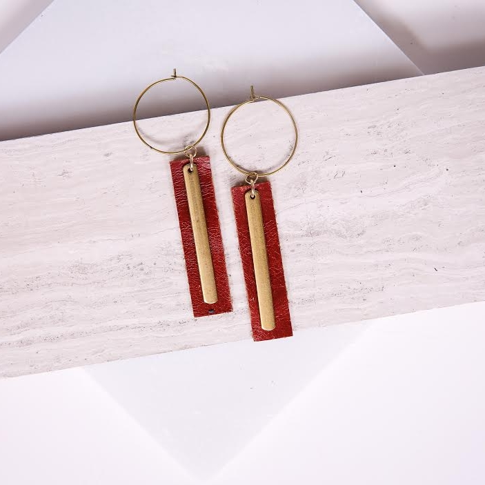 *Claimed* The first 25 people to raise $1000 - a pair of Sela Designs x Dressember Earrings