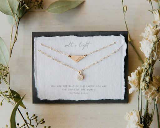 Photo of  Salt + Light 14k Gold Filled Necklace