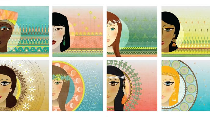 Photo of e-cards available through Gratitude 4 the Goddess.