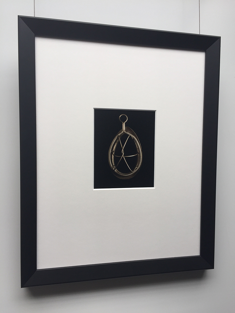 """Anesthesia Mask"" Framed"