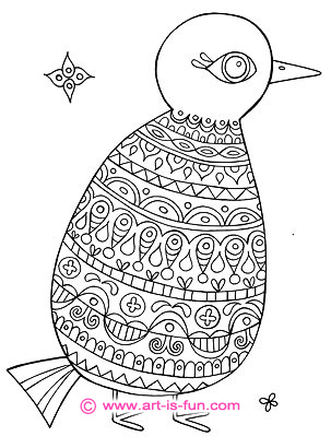 art is fun coloring pages folk art birds coloring pages art is fun