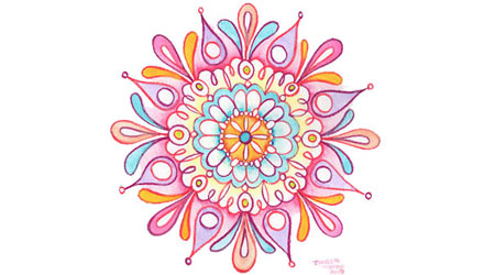 Learn How to Draw a Mandala