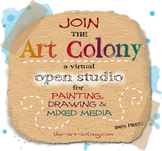 Join the Art Colony, a free online community for visual artists.