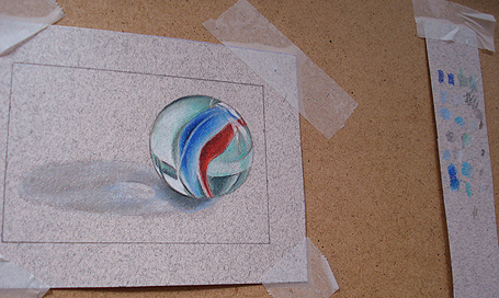Drawing a Marble