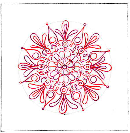 Mandala in Progress
