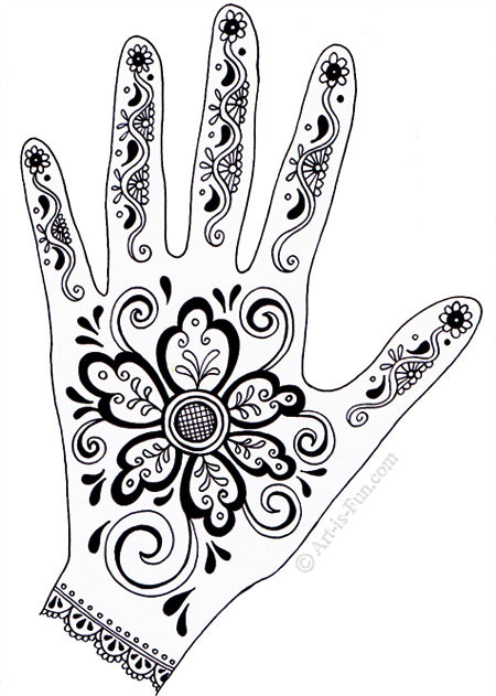 Henna Hand Designs by Thaneeya McArdle