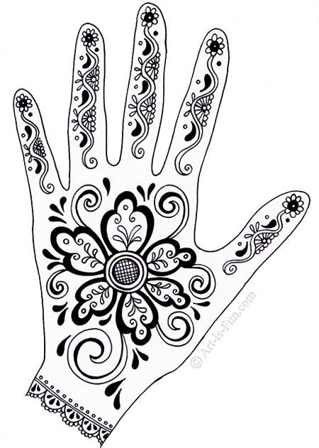 Henna Hand Designs by Thaneeya McArdle