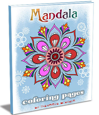 Mandala Coloring Pages by Thaneeya