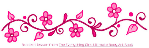 The Everything Girls Ultimate Body Art Book 50 Cool Doodle Tattoos