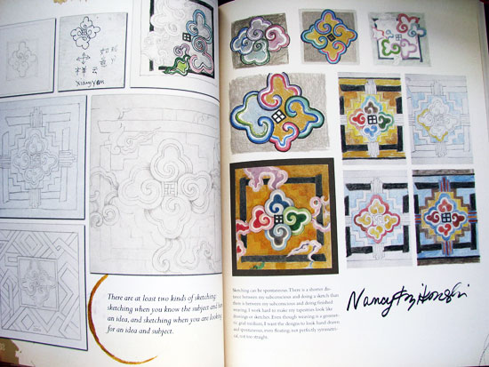 Sketchbook pages by Nancy Kozikowski