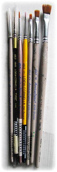 Acrylic Paintbrushes for Painting Photorealism