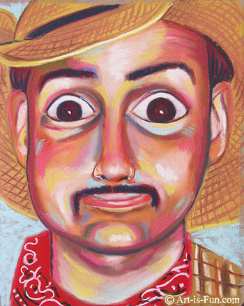 Pastel Portrait by Thaneeya McArdle