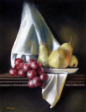 Learn how Delmus Phelps created this oil painting!