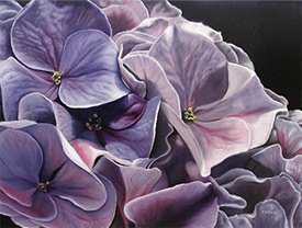 Oil painting by Delmus Phelps