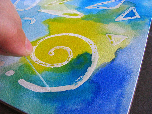 How to Remove Masking Fluid