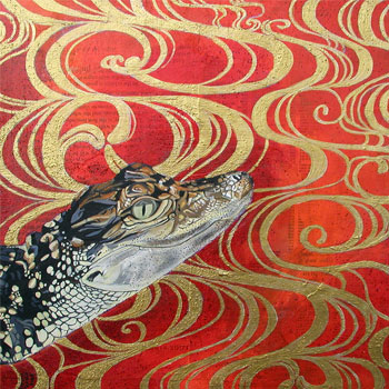 Acrylic Composite Art by Thaneeya