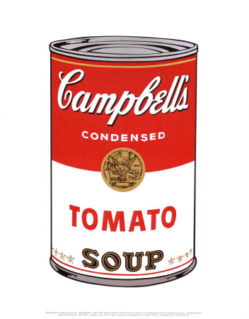 Campbell's Soup I: Tomato   Warhol, Andy