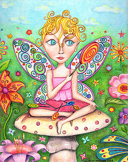 Whimsical Art Fairy by Thaneeya