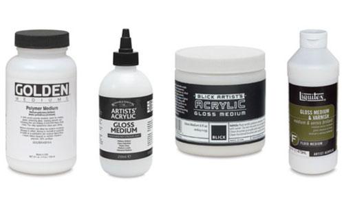 Acrylic Mediums, Gloss Medium