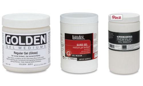 Acrylic Mediums, Gel Medium