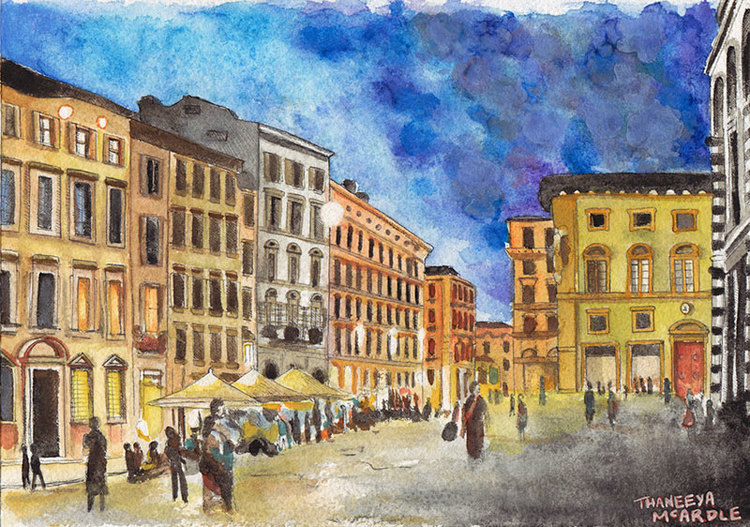 watercolors primary characteristic is its