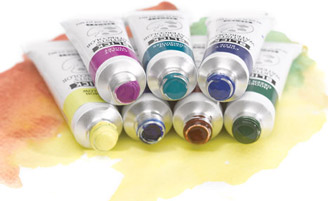 Blick Watercolor Tubes