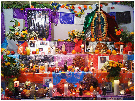 Creating an altar is one of the most important Day of the Dead customs Photo Credit: Carlos Martinez