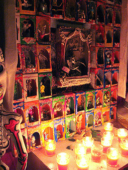 Day of the Dead altar Photo credit: mcbarnicle