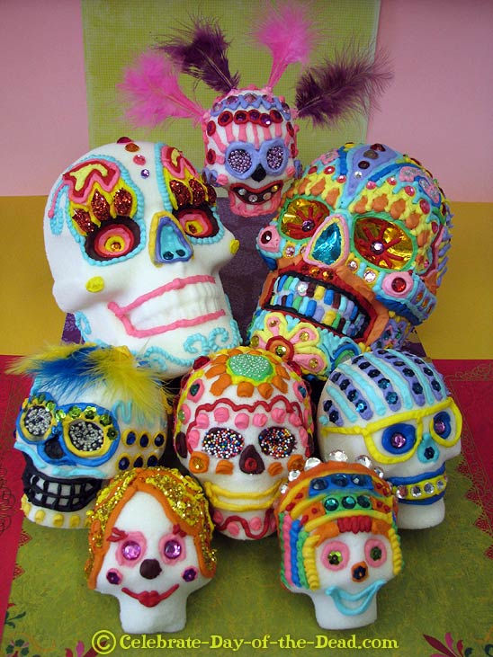 All About Sugar Skulls: Learn All About The Most Famous ...