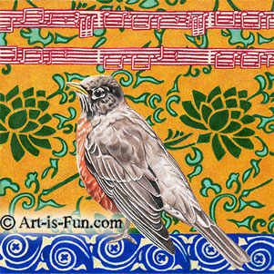 Bird Drawings by Thaneeya McArdle