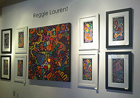 Reggie Laurent Art Exhibit