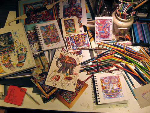John Kurtz's Artist Studio