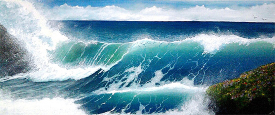 Ocean Art by Alan Minshull