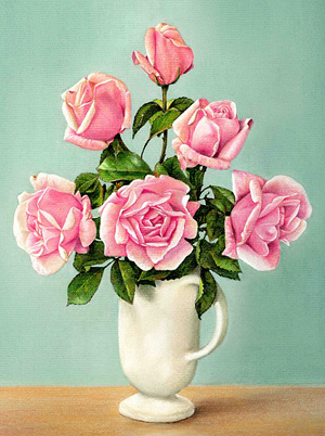 Roses Pastel Pencil Art Instruction