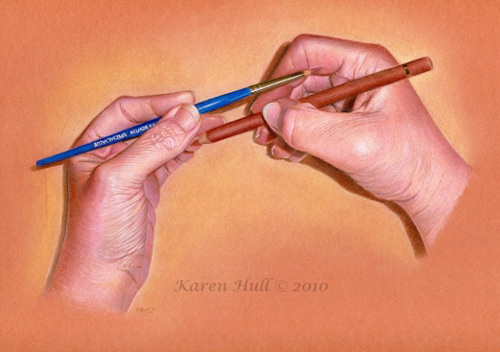 Realistic Drawings by Karen Hull