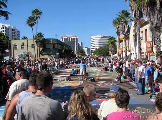 Sarasota Chalk Festival 2011